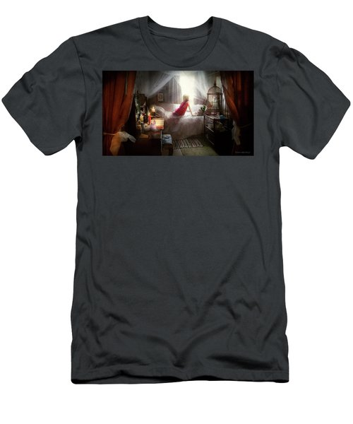 Men's T-Shirt (Athletic Fit) featuring the photograph The Sorcerer's Apprentice by Mike Savad - Abbie Shores