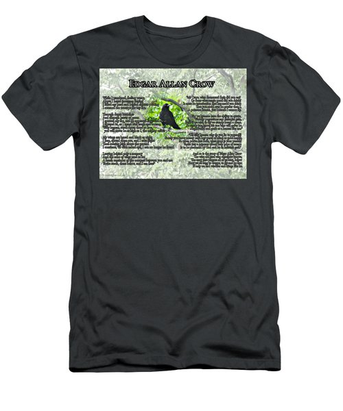 The Story Of Edgar Allan Crow Men's T-Shirt (Athletic Fit)