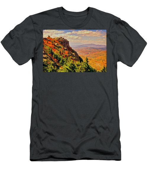 The Summit In Fall Men's T-Shirt (Athletic Fit)