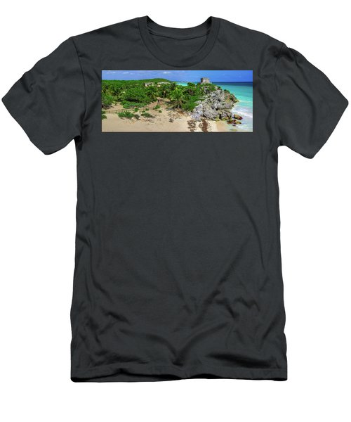 The Temple By The Sea Men's T-Shirt (Athletic Fit)