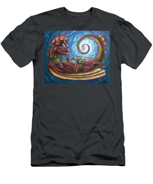 The Third Dream Of A Celestial Dragon Men's T-Shirt (Athletic Fit)