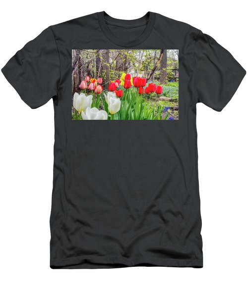 The Tulips Are Out. Men's T-Shirt (Athletic Fit)