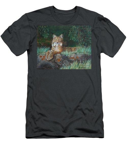 The Wild Cat  Men's T-Shirt (Athletic Fit)