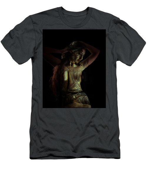 Men's T-Shirt (Athletic Fit) featuring the photograph The Woman Beneath by Marianna Mills