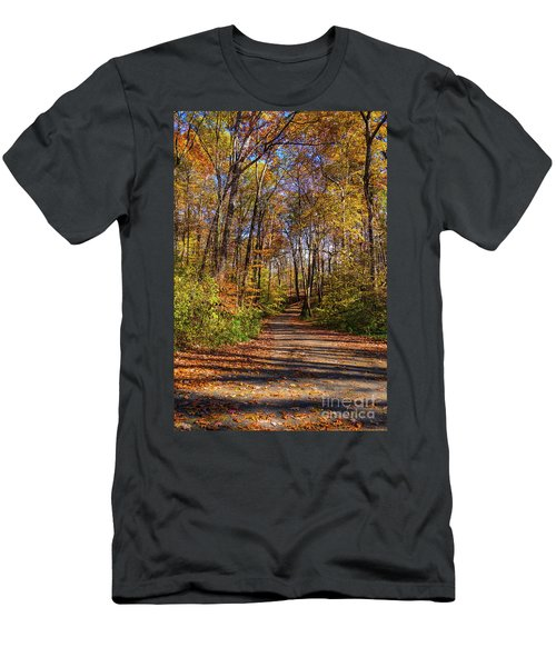 The Yellow Road Men's T-Shirt (Athletic Fit)