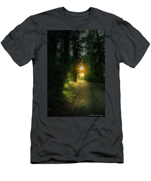 There Is Always A Light Men's T-Shirt (Athletic Fit)