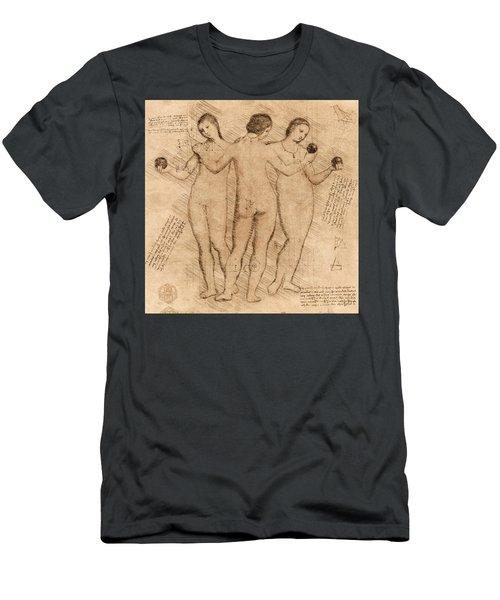 Three Graces - II Men's T-Shirt (Athletic Fit)