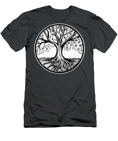 Thrive Tree Of Life Men's T-Shirt (Athletic Fit)