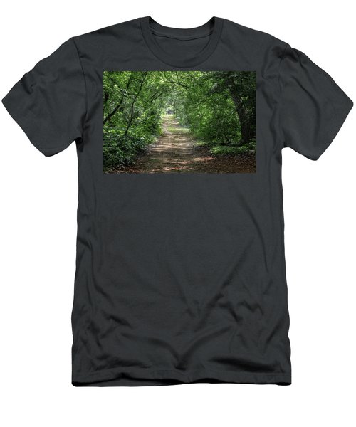 Men's T-Shirt (Athletic Fit) featuring the photograph Through The Forest by Dale Kincaid