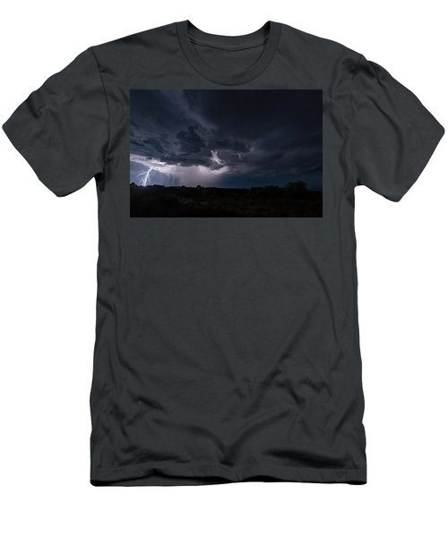 Thunderstorm #1 Men's T-Shirt (Athletic Fit)