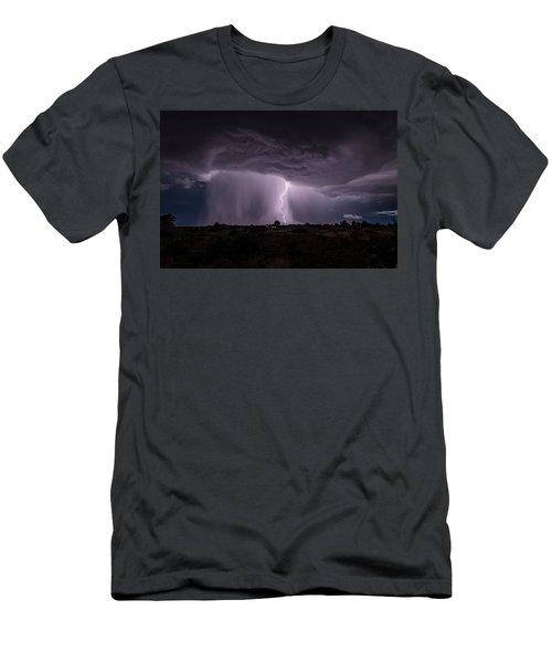 Thunderstorm #4 Men's T-Shirt (Athletic Fit)