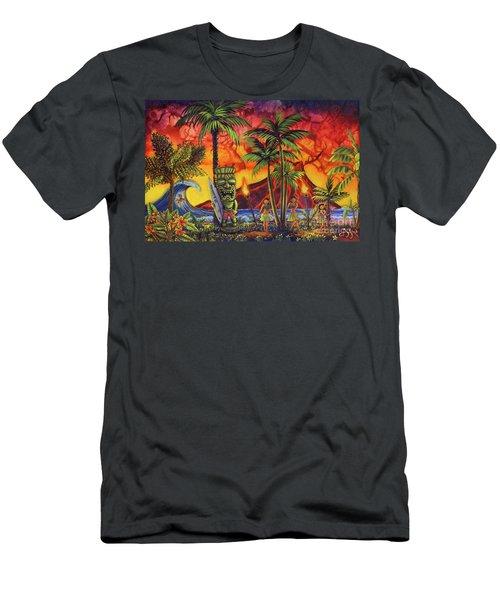 Tiki Surf A Lot Men's T-Shirt (Athletic Fit)