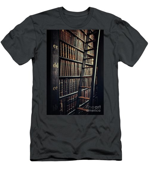 Time Is A Book Men's T-Shirt (Athletic Fit)