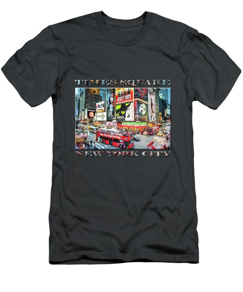Times Square II Special Edition Men's T-Shirt (Athletic Fit)
