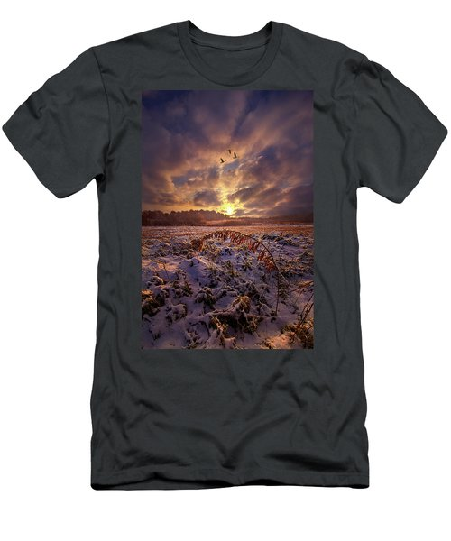 Men's T-Shirt (Athletic Fit) featuring the photograph Times They Changed by Phil Koch