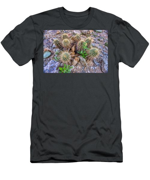 Tiny Cactus Men's T-Shirt (Athletic Fit)