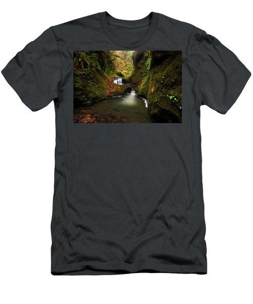 Tire Creek Canyon Men's T-Shirt (Athletic Fit)