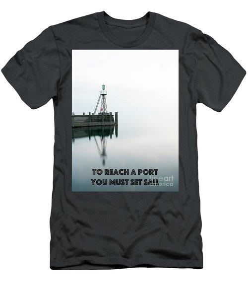 To Reach A Port Men's T-Shirt (Athletic Fit)