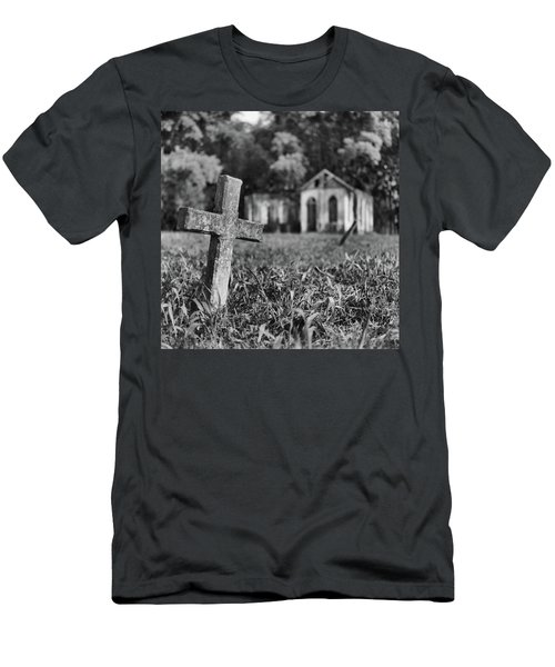 Tombstone, St. Chad's, Trinidad Men's T-Shirt (Athletic Fit)