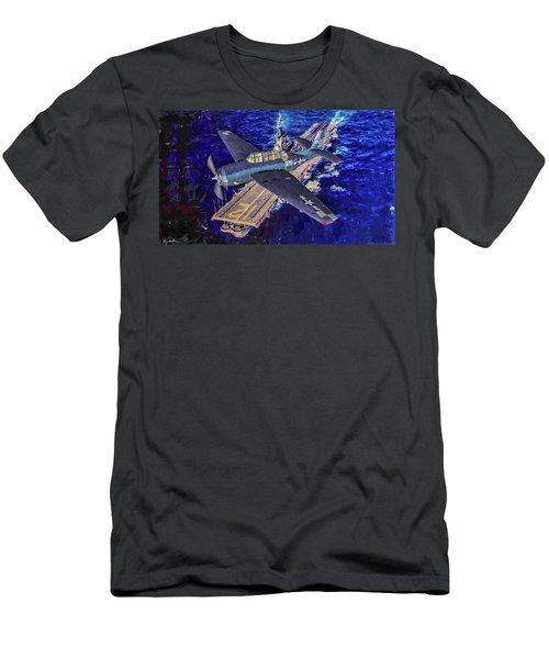 Torpedo Squadron Seventeen - Oil Men's T-Shirt (Athletic Fit)