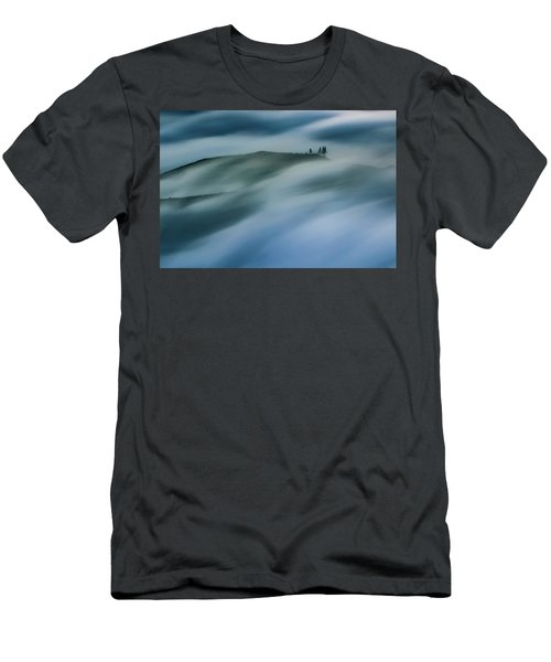 Touch Of Wind Men's T-Shirt (Athletic Fit)