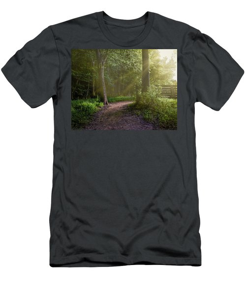 Towards The Light Men's T-Shirt (Athletic Fit)