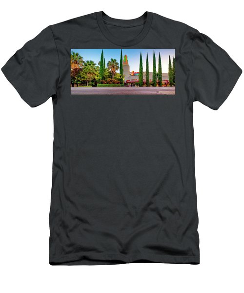 Tower Cafe Dusk- Men's T-Shirt (Athletic Fit)