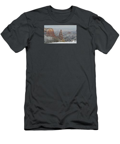 Tower Rock Men's T-Shirt (Athletic Fit)