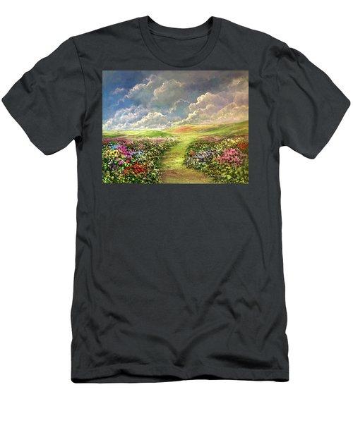 Transcend To Dreams Men's T-Shirt (Athletic Fit)