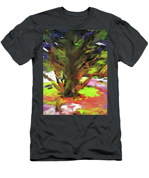 Tree With The Open Arms Men's T-Shirt (Athletic Fit)