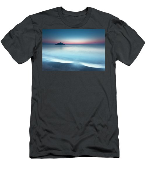 Triangle Island Men's T-Shirt (Athletic Fit)