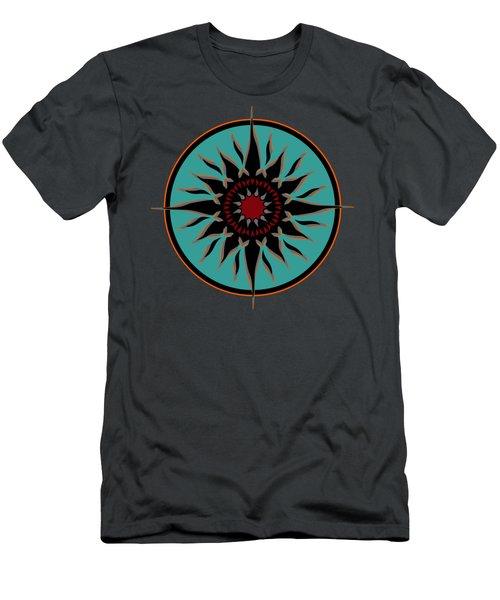 Tribal Sun Men's T-Shirt (Athletic Fit)