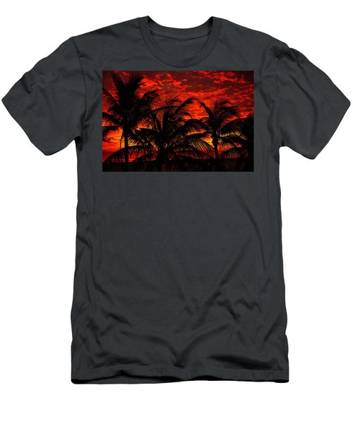 Tropical Sunrise Men's T-Shirt (Athletic Fit)