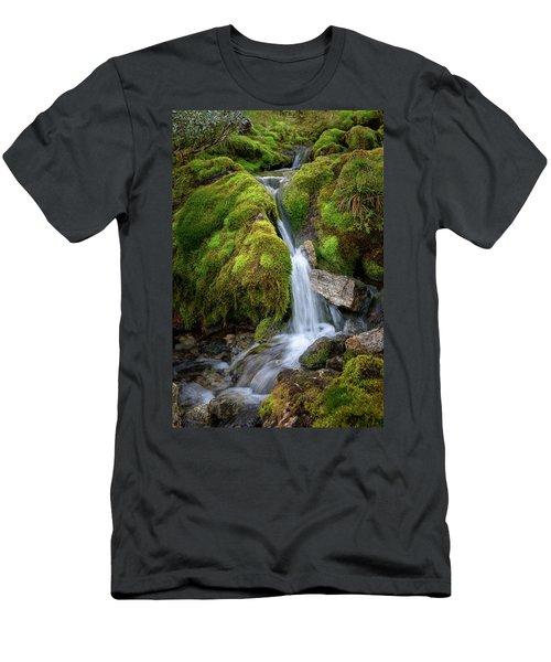 Tufteelvi, Norway Men's T-Shirt (Athletic Fit)