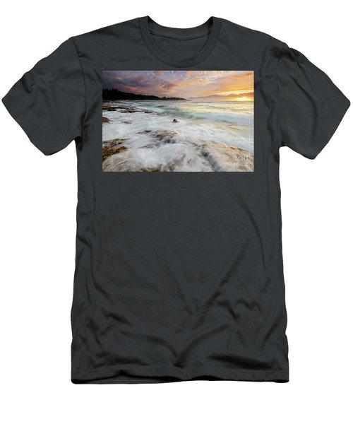 Turtle Bay Sundown Men's T-Shirt (Athletic Fit)