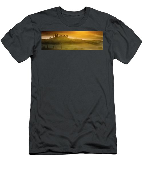 Tuscany In Gold Men's T-Shirt (Athletic Fit)