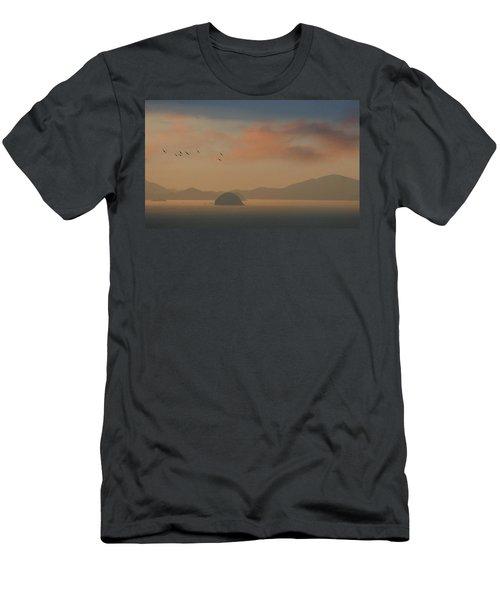 Twilight Calm Men's T-Shirt (Athletic Fit)
