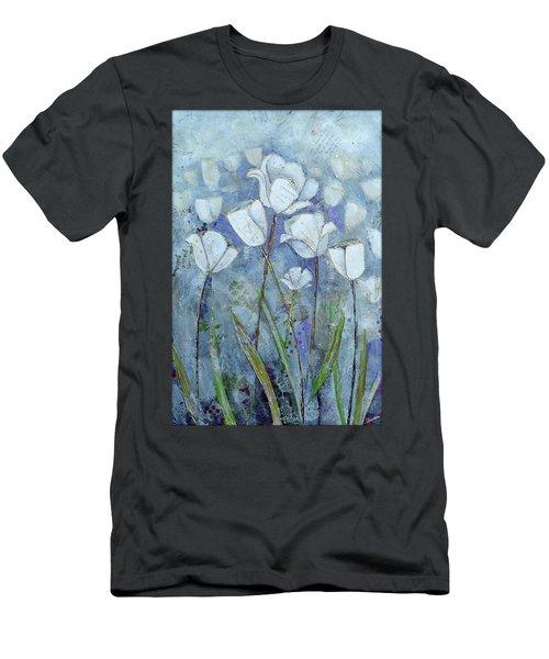 Twilight Tulips Men's T-Shirt (Athletic Fit)