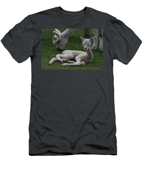 Two Hours Old Men's T-Shirt (Athletic Fit)