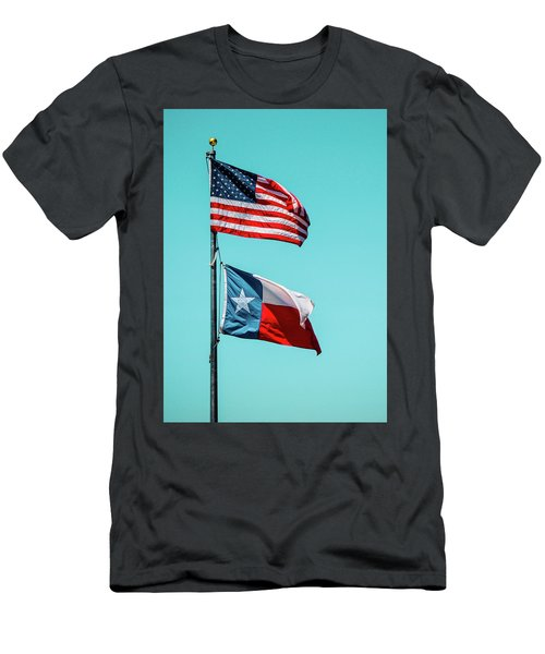 Men's T-Shirt (Athletic Fit) featuring the photograph Two Republics by SR Green