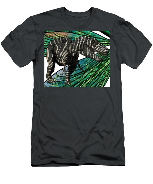 Tyrannosaurus Takes Wings Men's T-Shirt (Athletic Fit)