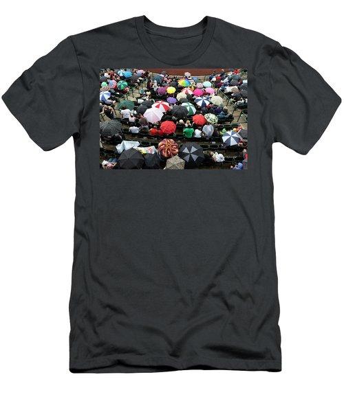 Umbrella Sea Men's T-Shirt (Athletic Fit)