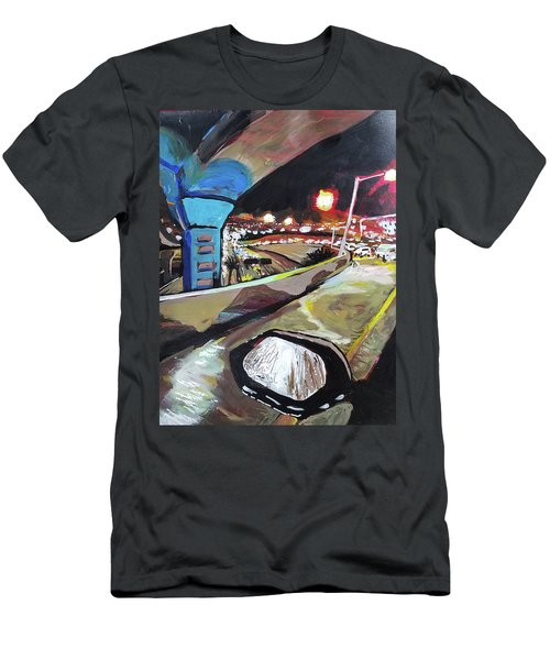 Underpass At Nighht Men's T-Shirt (Athletic Fit)