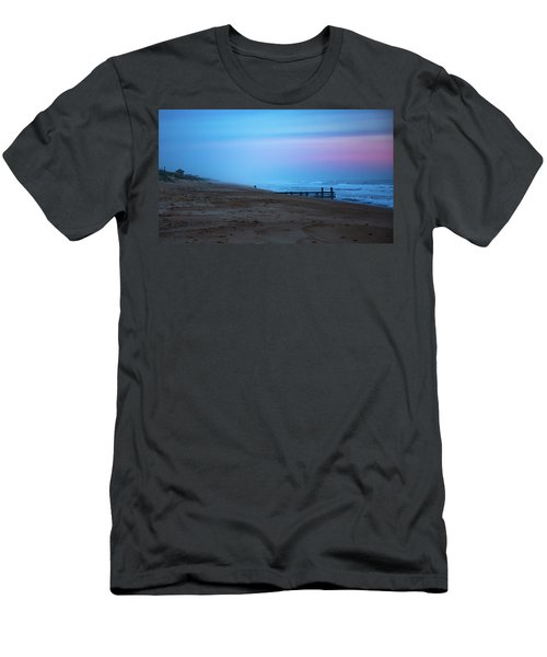 Men's T-Shirt (Athletic Fit) featuring the photograph Up Before Sunrise by Lora J Wilson