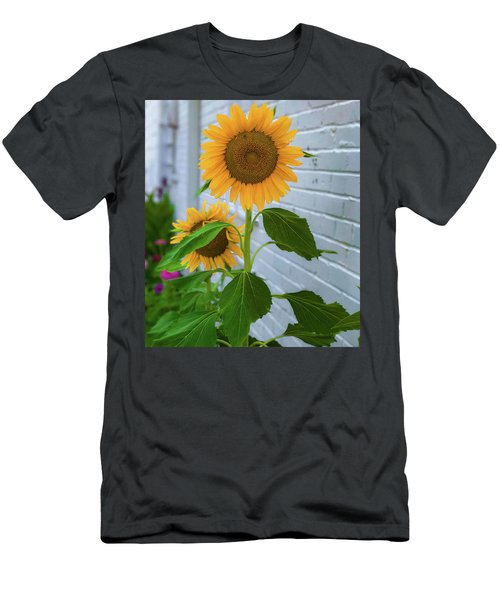 Urban Sunflower Men's T-Shirt (Athletic Fit)