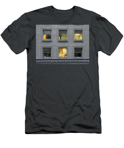 Urban Windows Men's T-Shirt (Athletic Fit)