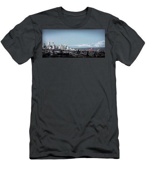 Vacouver Winter 1 Men's T-Shirt (Athletic Fit)