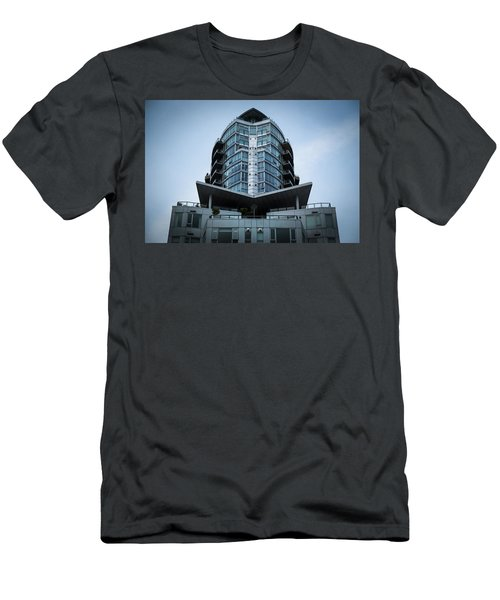 Men's T-Shirt (Athletic Fit) featuring the photograph Vancouver Architecture by Juan Contreras