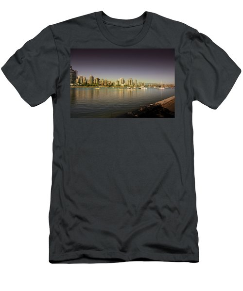 Vancouver In Magical Hours Men's T-Shirt (Athletic Fit)