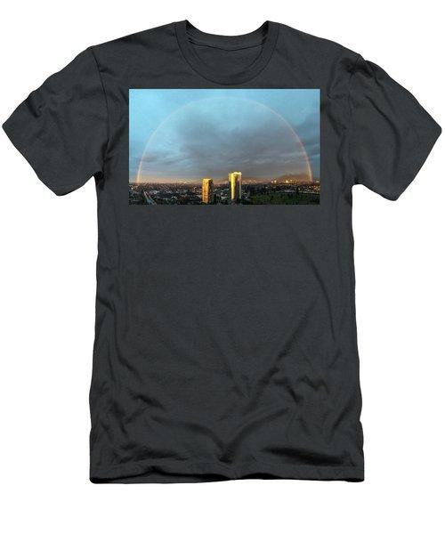 Vancouver Rainbow Men's T-Shirt (Athletic Fit)